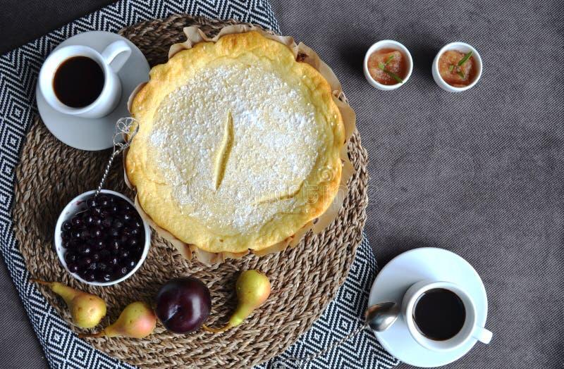 Домодельный очень вкусный завтрак стоковое изображение rf