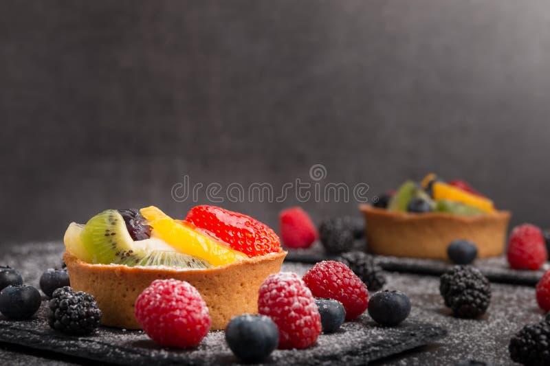 Домодельный пирог плодоовощ стоковая фотография