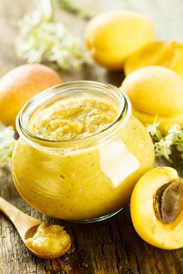 Домодельный соус мустарда плодоовощ стоковое фото rf
