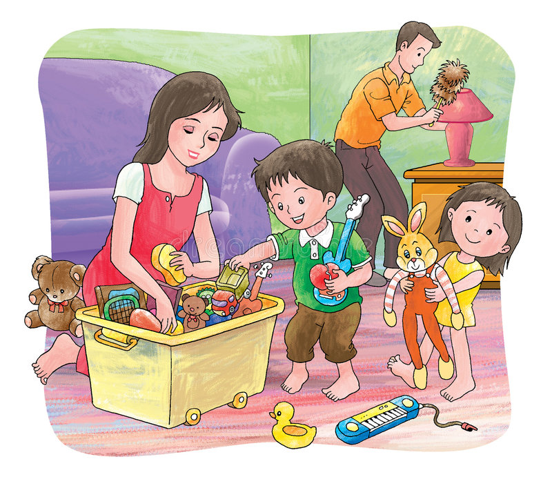 домоустройство бесплатная иллюстрация