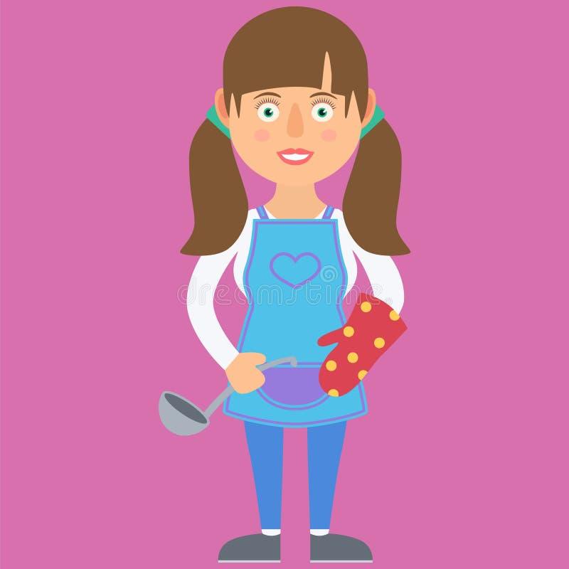 Домохозяйка женщины бесплатная иллюстрация