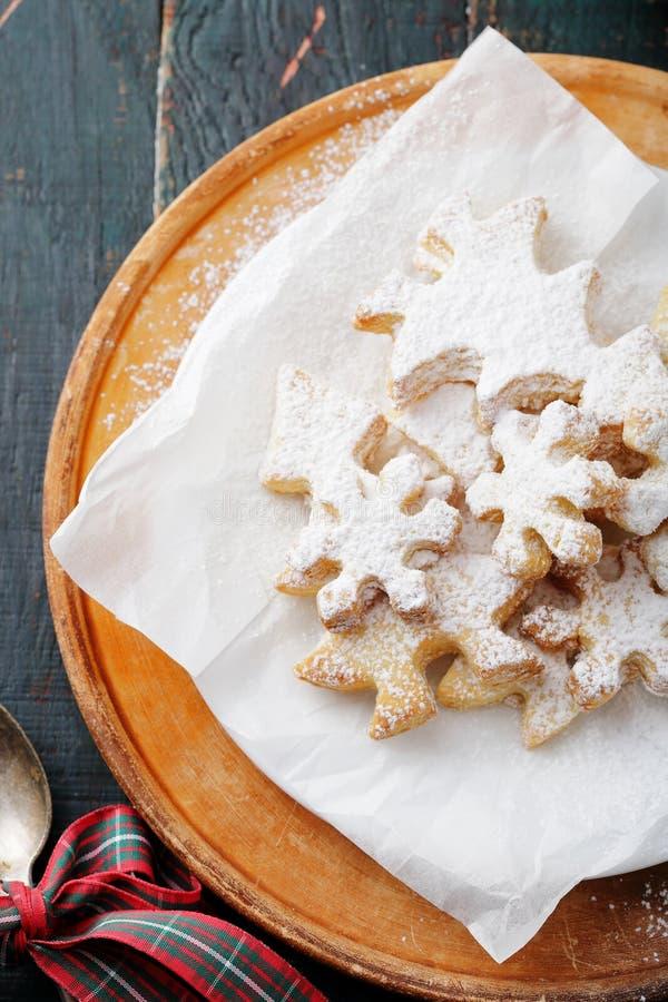 Домодельные печенья xmas стоковое изображение rf