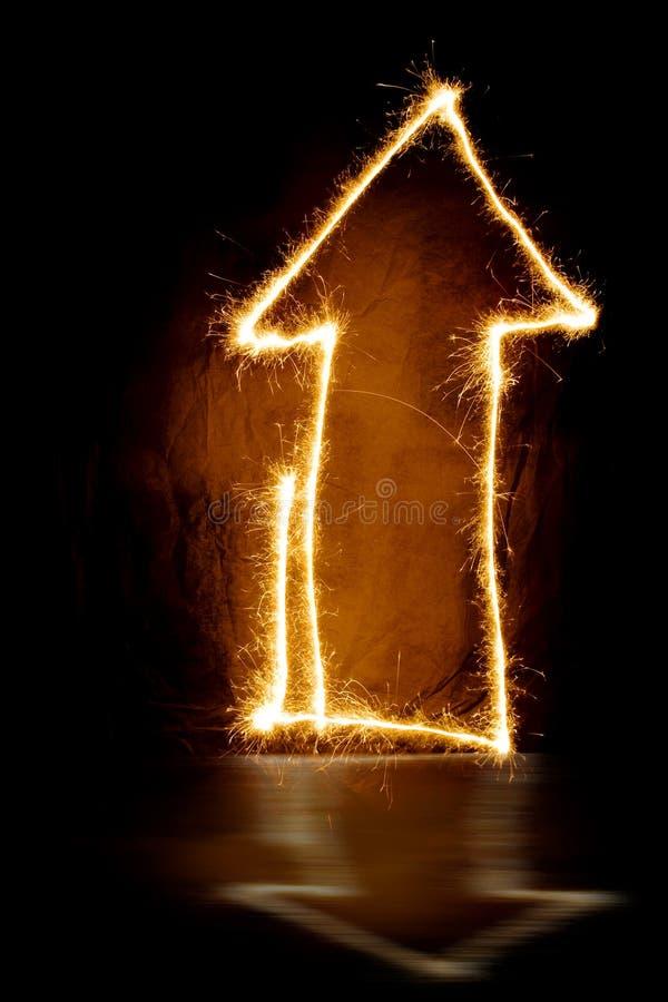 Дом бенгальского огня стоковое фото