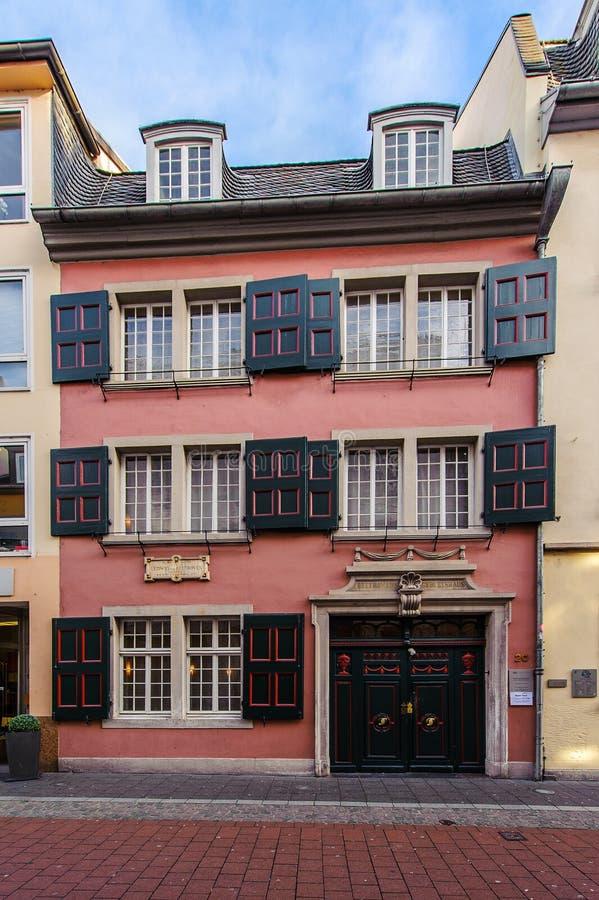 Дом Бетховен в Бонне, Германии стоковые изображения