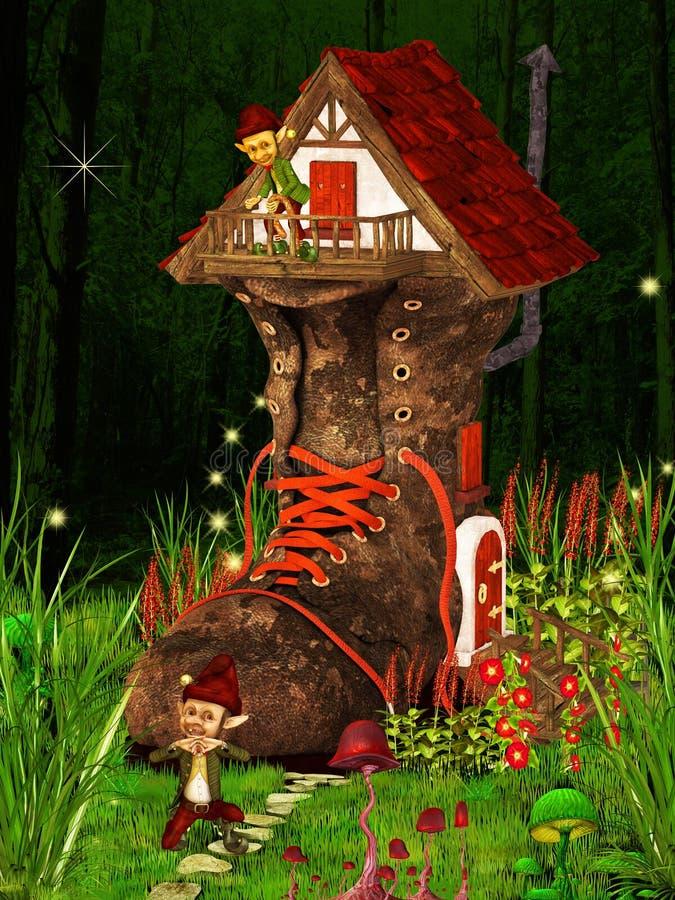 дом ботинка бесплатная иллюстрация