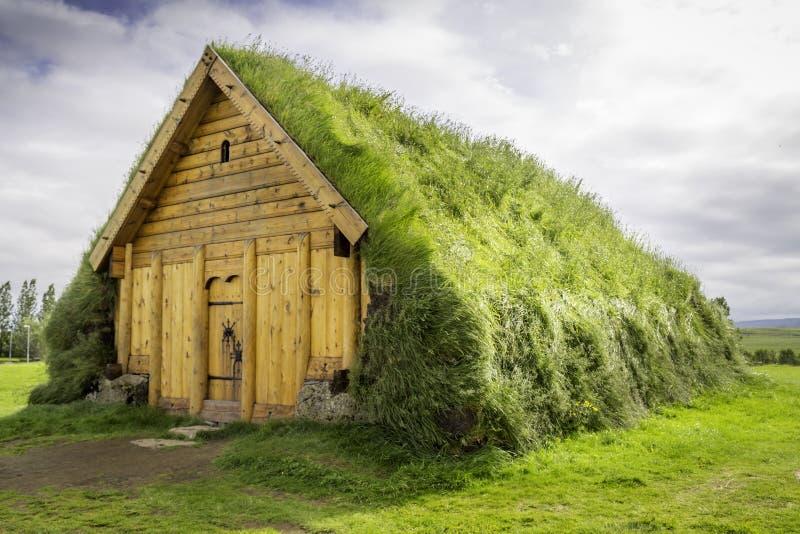 Дом Викинга стоковые изображения rf