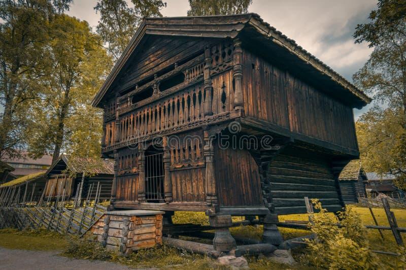 Дом Викинга стоковое фото rf