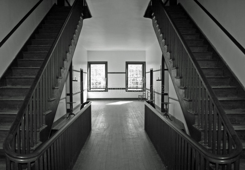 дом восхождения на борт стоковое изображение