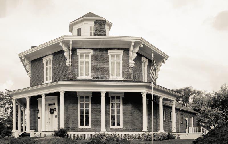 Дом восьмиугольника Вашингтона стоковое фото rf