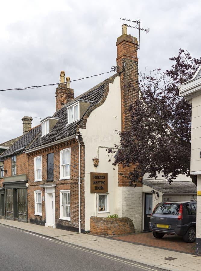 Дом встречи друзей, Beccles, суффольк, Англия стоковое изображение rf
