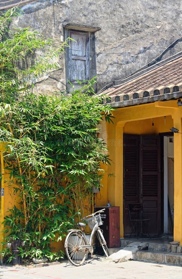 дом входа старая стоковое изображение rf