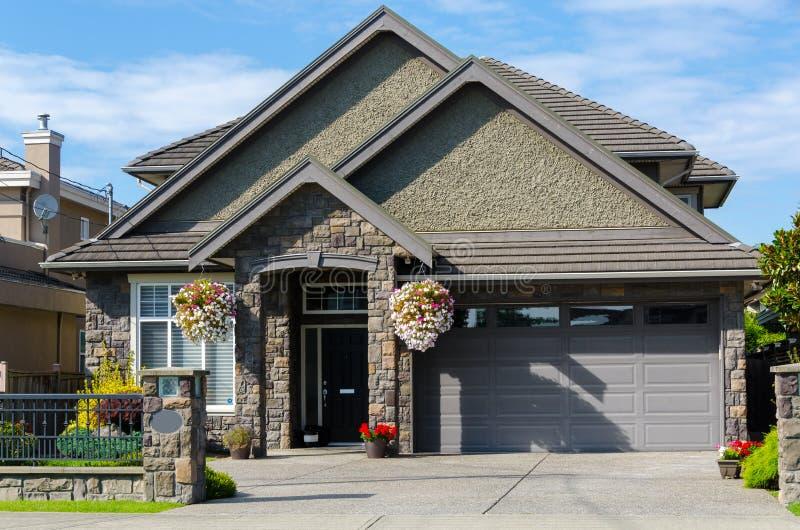 Дом в Ванкувере стоковое фото