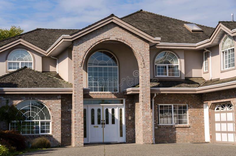 Дом в Ванкувере стоковое изображение rf