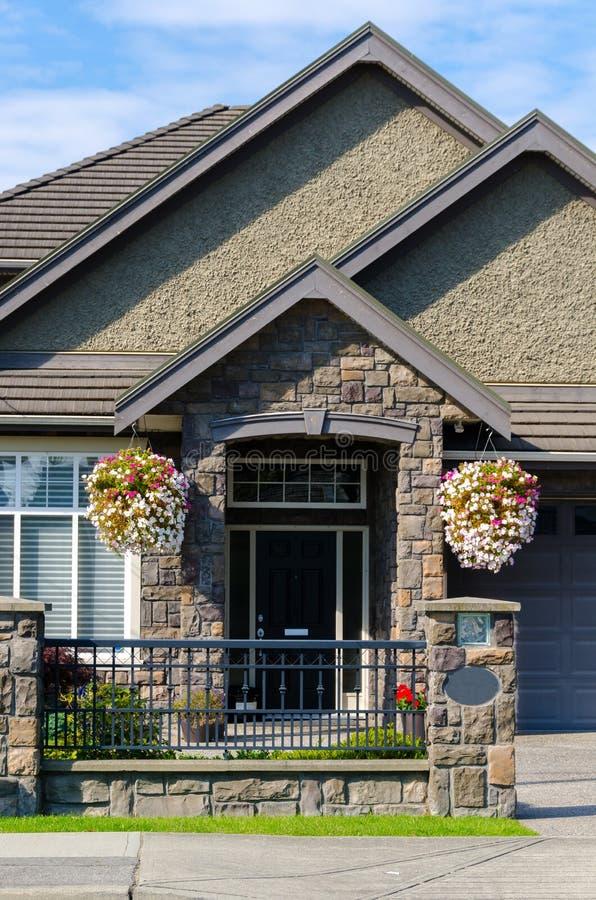 Дом в Ванкувере стоковые фото