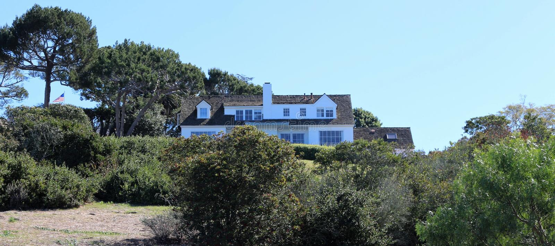 Дом в имуществе Palos Verdes, Калифорния стоковые фотографии rf