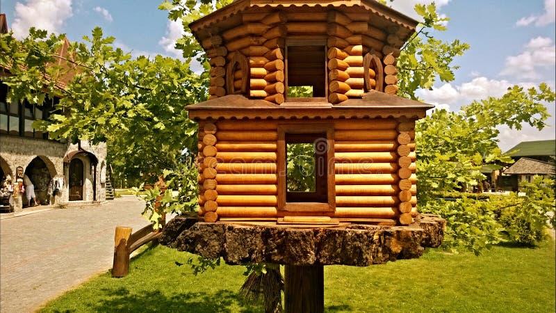 Дом в парке стоковое фото rf