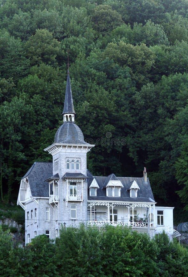 дом горного склона стоковые фото