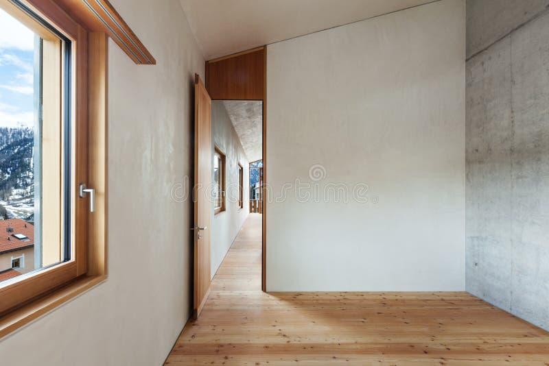Дом горы, взгляд комнаты стоковые изображения rf
