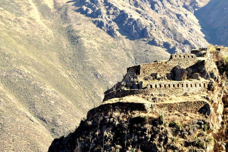 Дом горы стоковое изображение