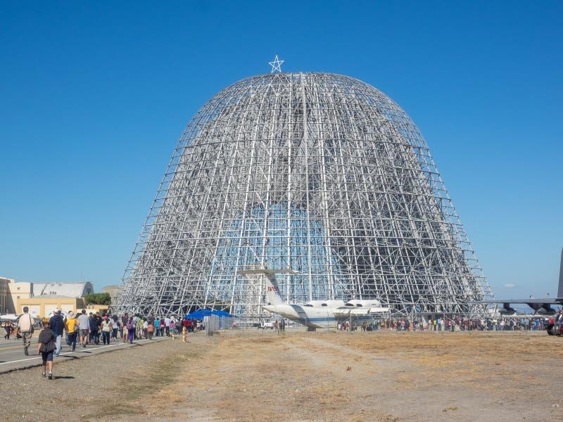 Дом годовщины исследовательскийа центр 75th Ames NASA открытый стоковое фото