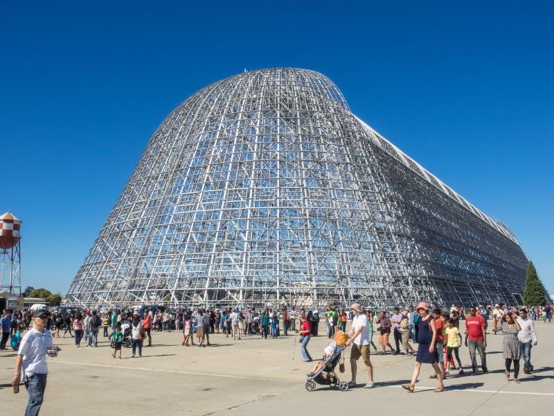 Дом годовщины исследовательскийа центр 75th Ames NASA открытый стоковое изображение rf