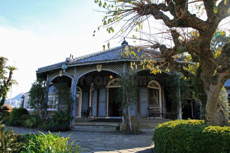 Дом Главера в саде Главера, Нагасаки стоковое фото