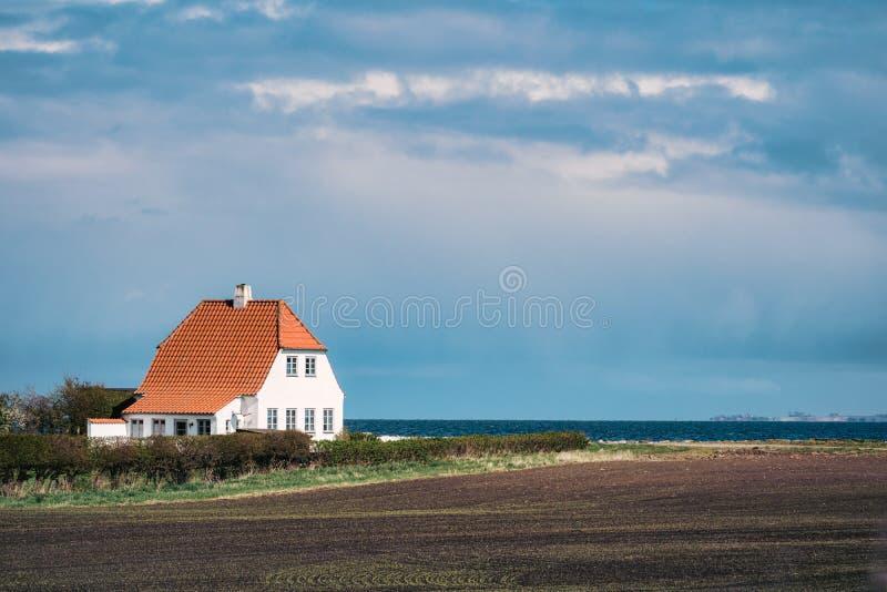 дом Дании старая стоковое фото