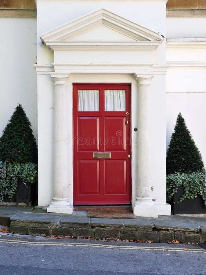 дом двери передняя стоковая фотография rf