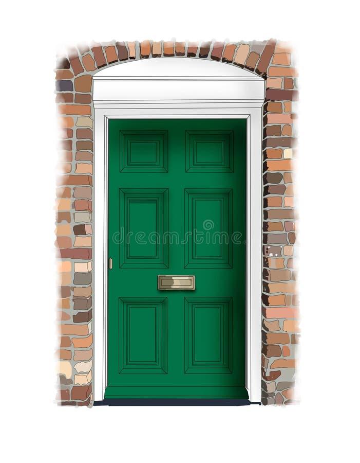 дом двери georgian бесплатная иллюстрация