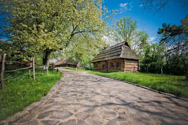 Дом, деревня стоковое изображение