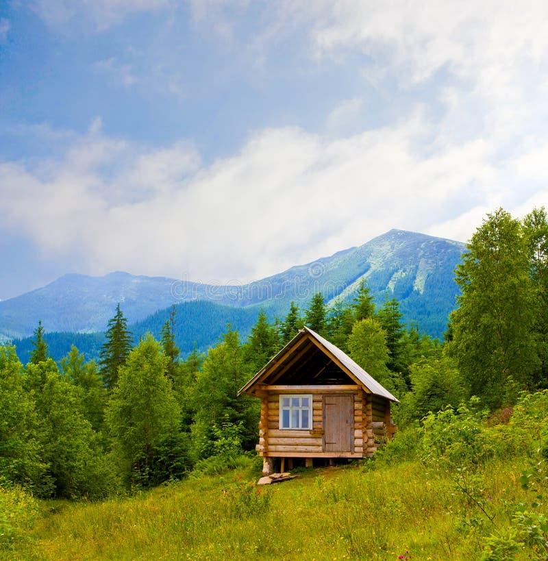 дом деревянная стоковые изображения