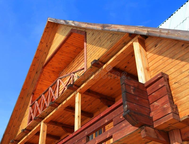 дом деревянная стоковая фотография