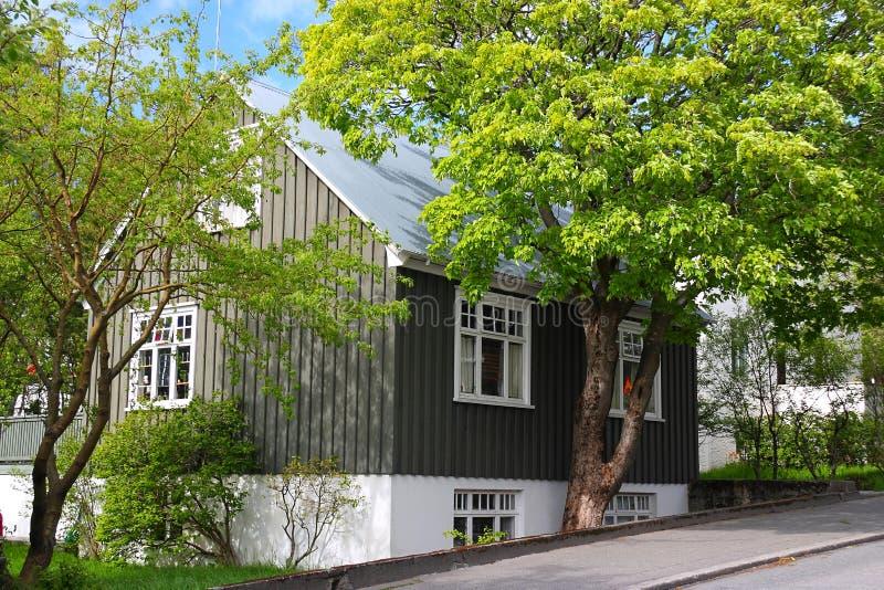 дом деревянная стоковая фотография rf