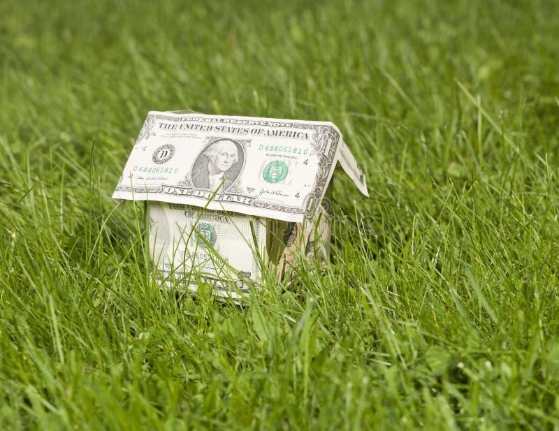 дом доллара сделала миниатюру стоковые изображения