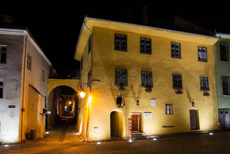 Дом Дракула Vlad Tepes стоковые фото