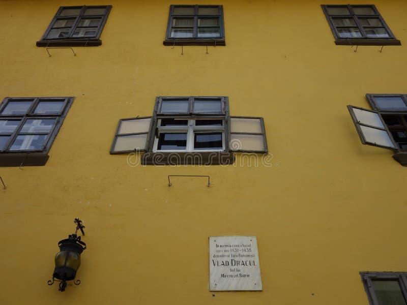Дом Дракула стоковые фотографии rf