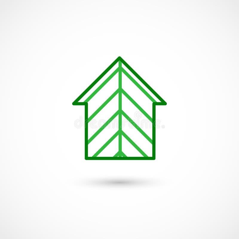 Дом леса иллюстрация штока