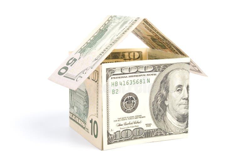 дом заработала деньги стоковая фотография rf