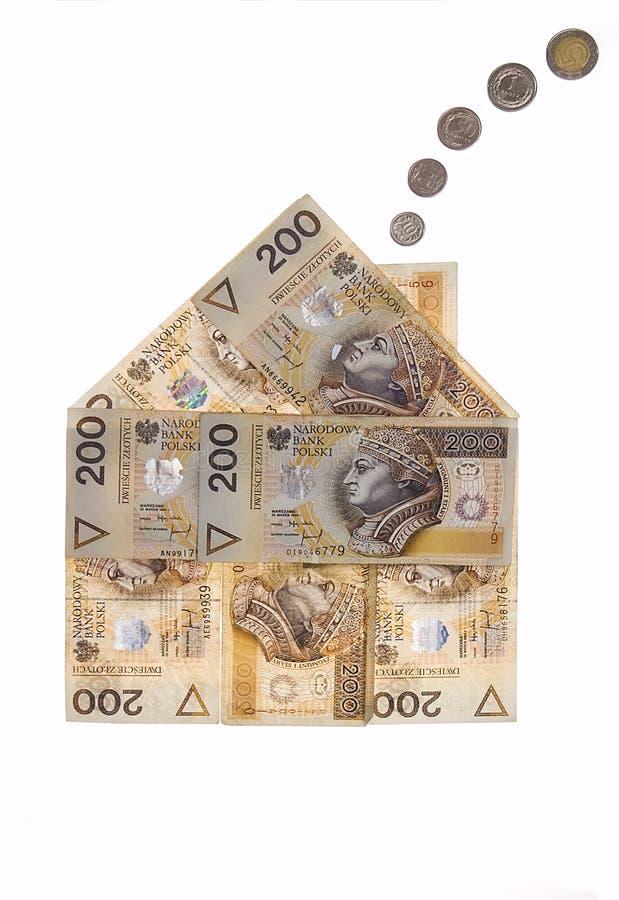 дом заработала деньги стоковые изображения rf