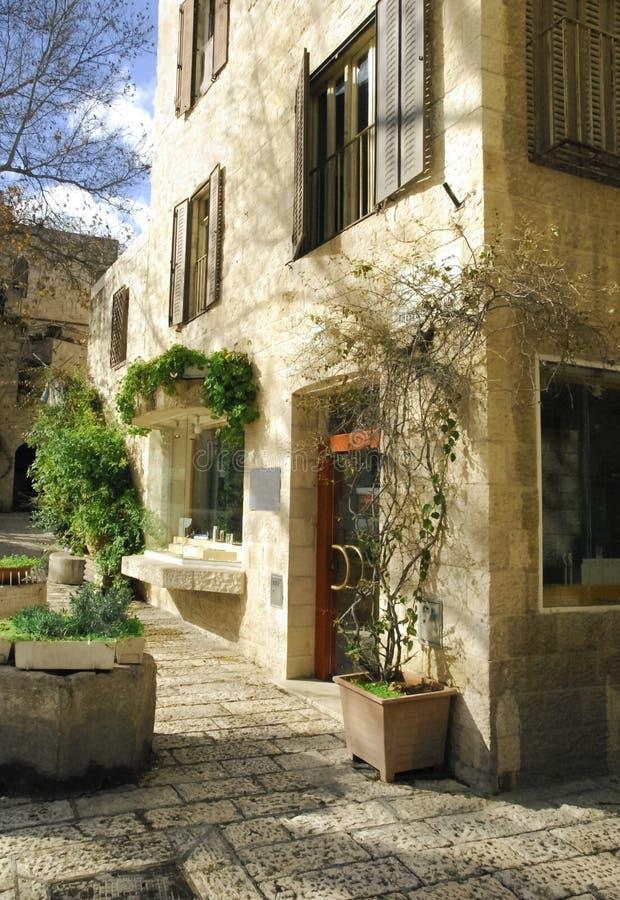 дом Иерусалим самомоднейший стоковая фотография