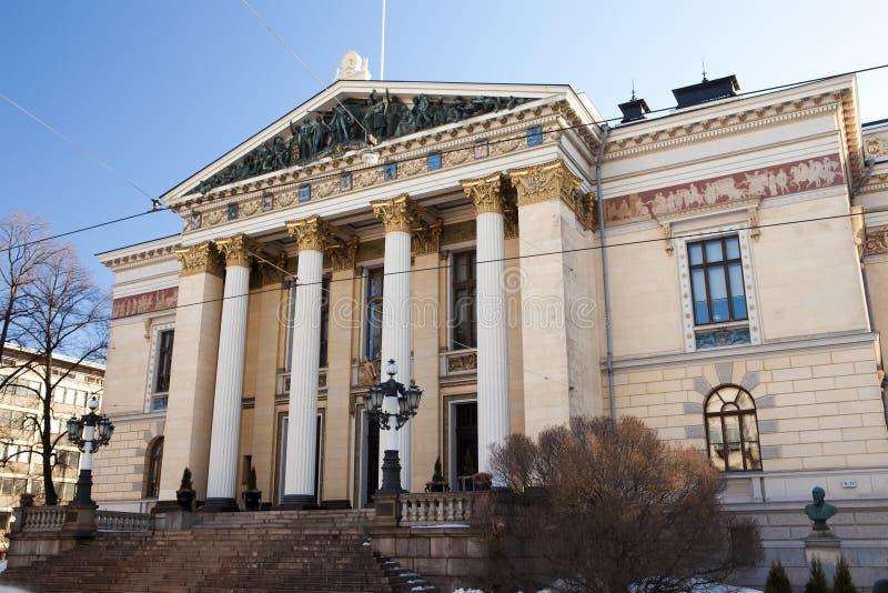 Дом имущества, историческое здание в Хельсинки, Финляндии стоковая фотография rf