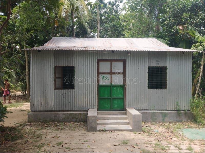 Дом индийской деревни стоковые фотографии rf