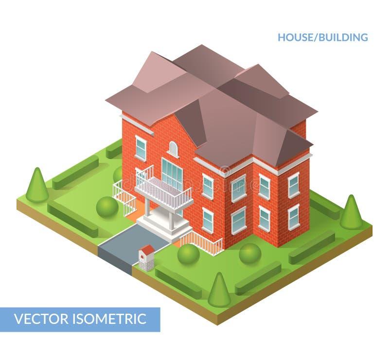 Дом и здание бесплатная иллюстрация