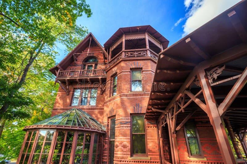 Дом и музей Марка Твена стоковое изображение
