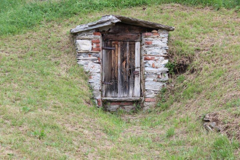 Дом камня стоковая фотография