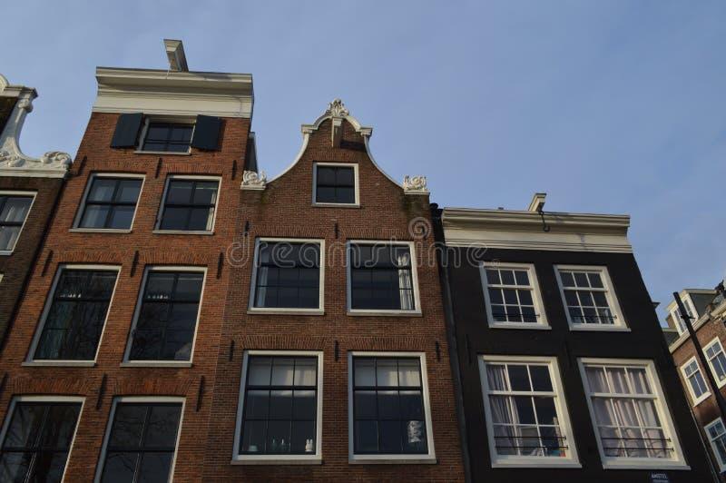 Дом канала, Амстердам, Нидерланды стоковое фото