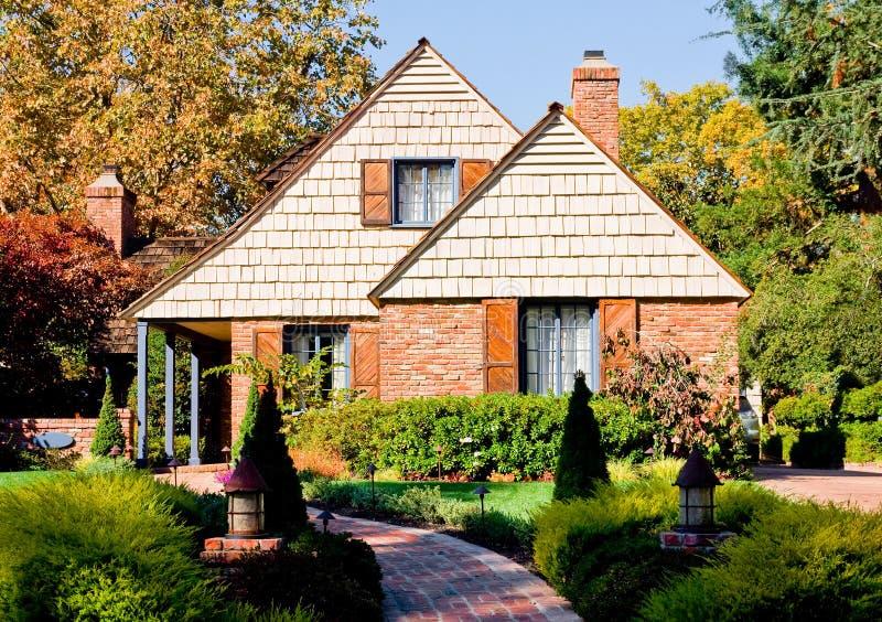 Download дом кирпича немногая стоковое изображение. изображение насчитывающей ипотека - 6859331