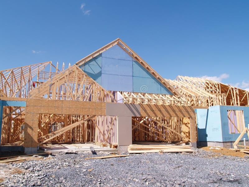 дом конструкции новая стоковые изображения