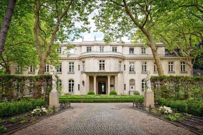 Дом конференции Wannsee в Берлине, Германии стоковые изображения rf