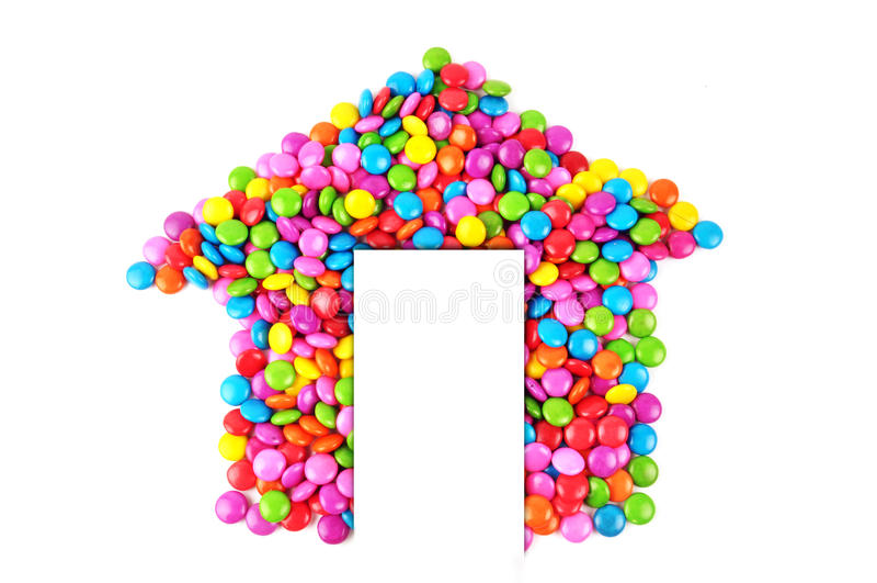 дом конфеты стоковые фотографии rf